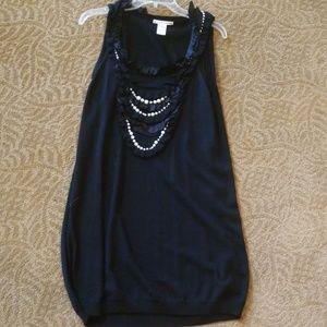 Nanette Lepore Knit Black dress